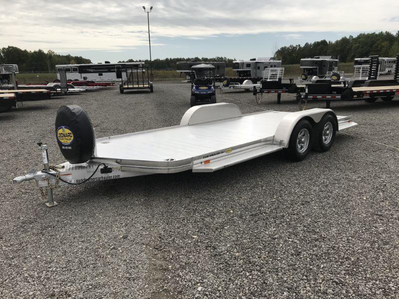 2021 19' SUNDOWNER BUMPER PULL CAR HAULER TRAILER
