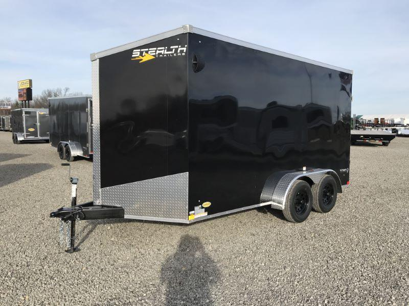 2021  7 X 14 STEALTH BUMPER PULL ENCLOSED CARGO TRAILER