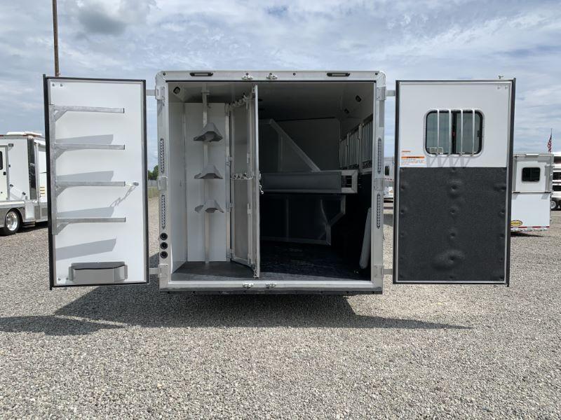 2021 3 HORSE SMC GOOSENECK W/LIVING QUARTERS  HORSE TRAILER