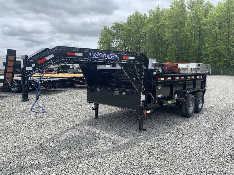 2020 16'  LOAD TRAIL GOOSENECK DUMP TRAILER