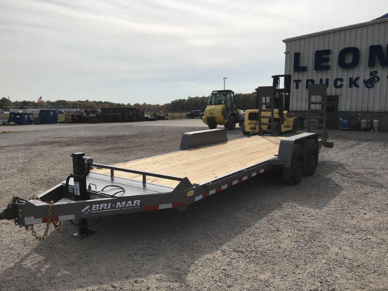 2021  20'   BRI-MAR BUMPER PULL EQUIPMENT TRAILER