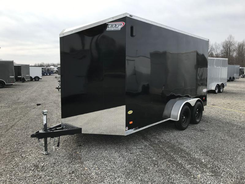 2021 7X14 BRAVO BUMPER PULL ENCLOSED CARGO TRAILER