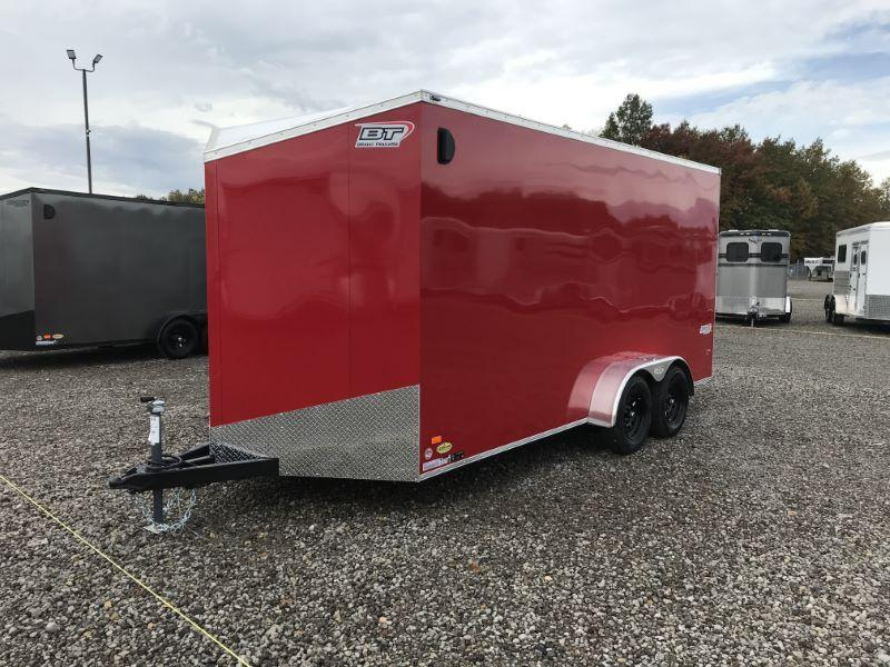 2021 7X16 BRAVO BUMPER PULL ENCLOSED CARGO TRAILER