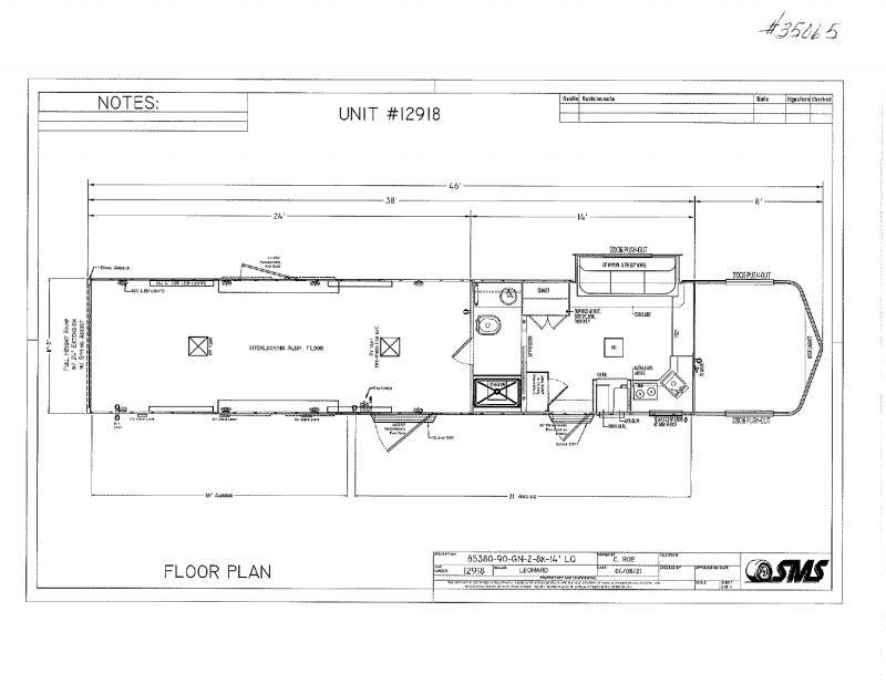 2022  38'  SHADOW GOOSENECK TOY HAULER WITH LIVING QUARTERS TRAILER