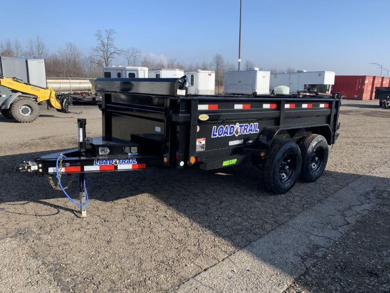 2021 6 X 12 LOAD TRAIL BUMPER PULL DUMP TRAILER