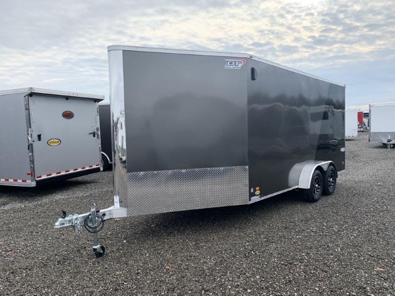 2020 7X16 BRAVO BUMPER PULL ENCLOSED ATV/SNOWMOBILE TRAILER