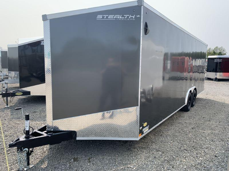 2021 8.5X24  STEALTH BUMPER PULL ENCLOSED CARGO TRAILER