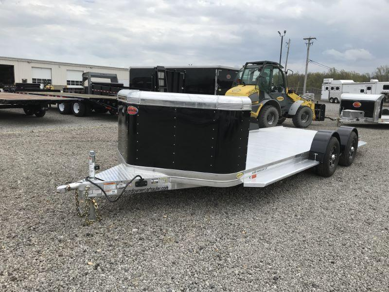 2021 21' SUNDOWNER BUMPER PULL OPEN CAR HAULER
