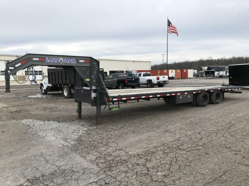 2021 8.5X34 LOAD TRAIL GOOSENECK EQUIPMENT TRAILER