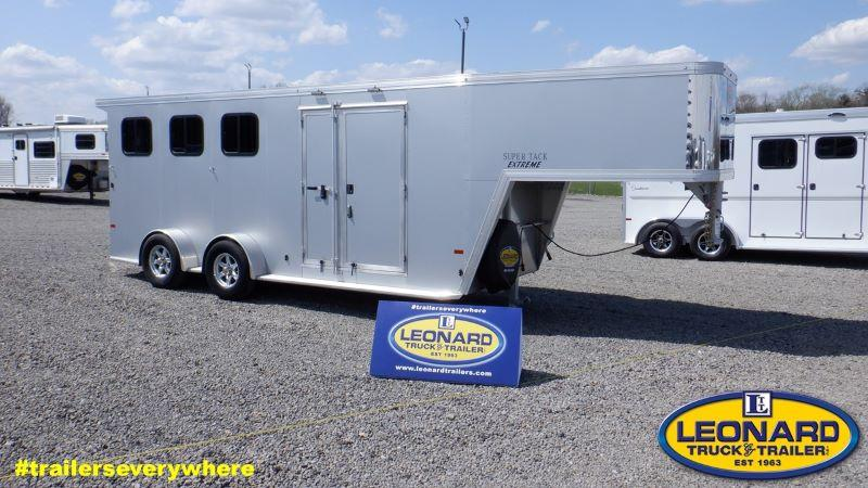 2020 3 HORSE SUNDOWNER GOOSENECK W/DRESS HORSE TRAILER