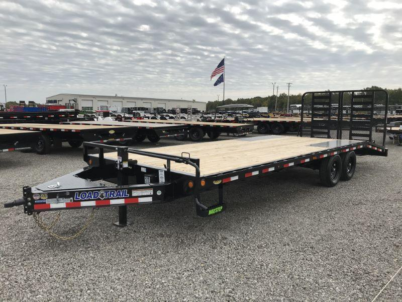 2021  24'  LOAD TRAIL BUMPER PULL EQUIPMENT TRAILER