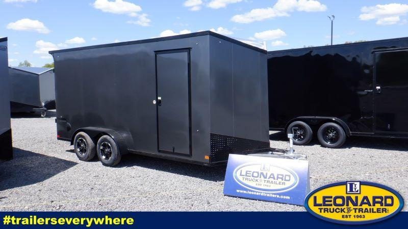 2022 16' FORMULA BUMPER PULL ENCLOSED CARGO TRAILER