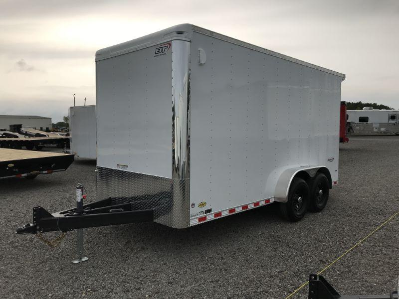 2021 7X16 BRAVO BUMPER PUILL ENCLOSED CARGO TRAILER