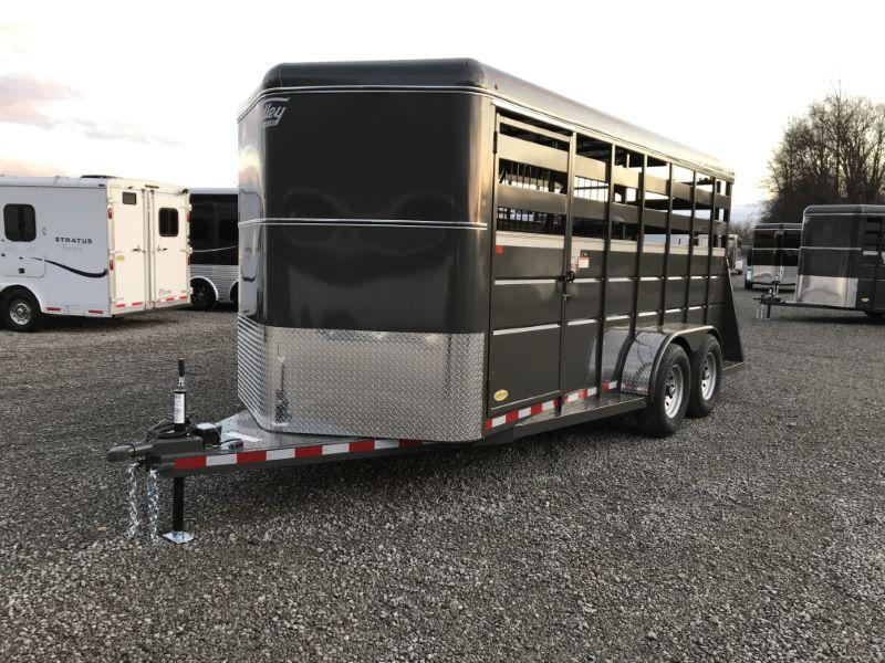 2021  3 HORSE  VALLEY BUMPER PULL HORSE TRAILER