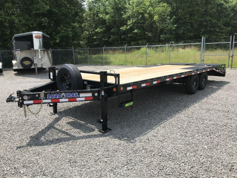2020 25' LOAD TRAIL BUMPER PULL EQUIPMENT TRAILER