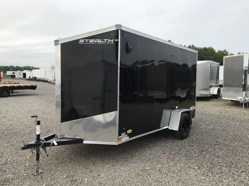 2021  6X12  STEALTH BUMPER PULL ENCLOSED TRAILER