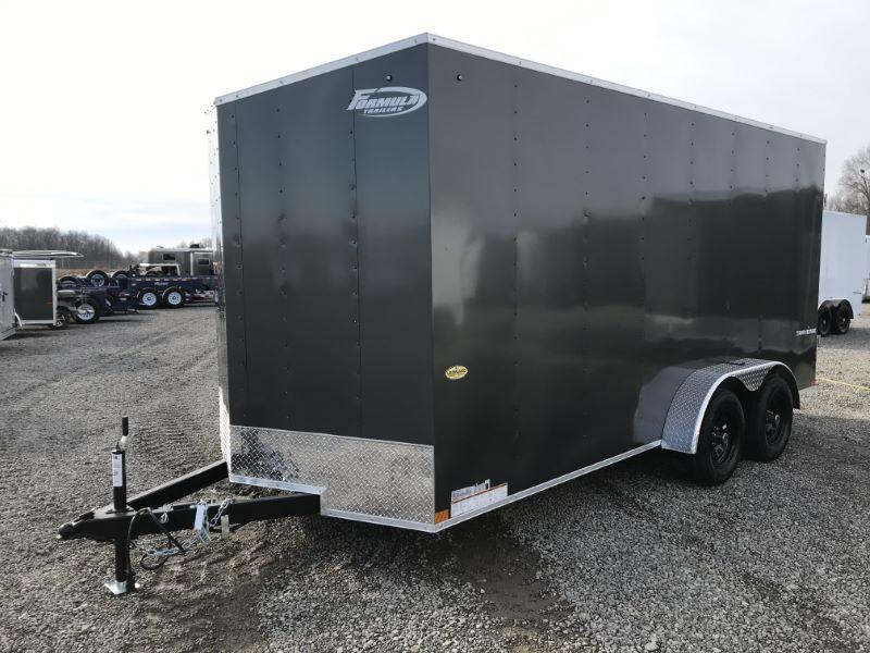 2021 16'  FORMULA BUMPER PULL ENCLOSED CARGO TRAILER