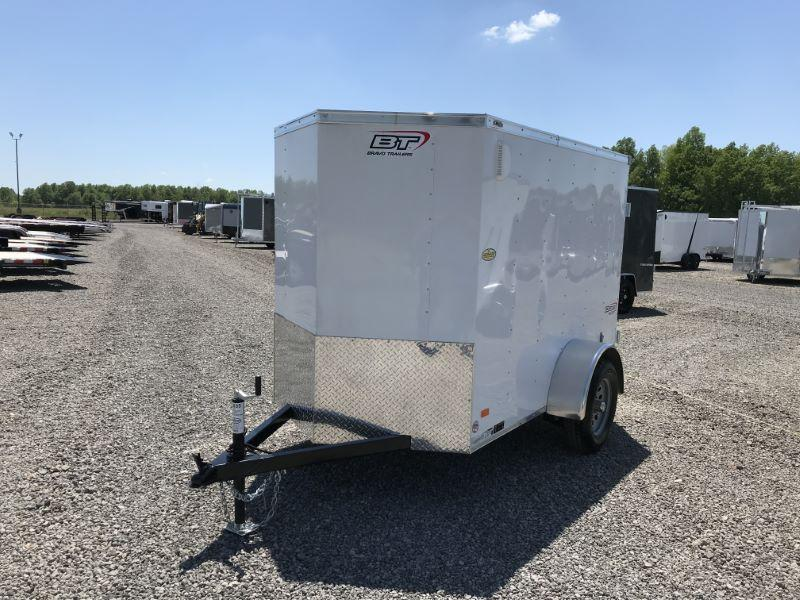 2020 5X8 BRAVO BUMPER PULL ENCLOSED CARGO TRAILER