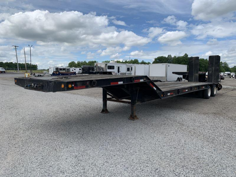 1998 21' DYNAWELD FIFTH WHEEL EQUIPMENT TRAILER