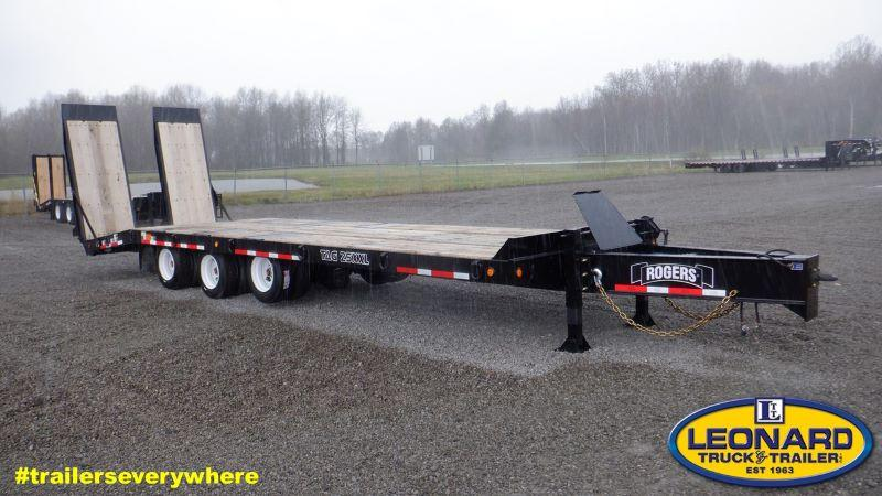 2021 8.5 X 30 ROGERS 25 TON TAG EQUIPMENT TRAILER