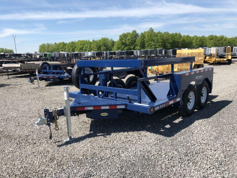2020 14' AIR TOW BUMPER PULL EQUIPMENT TRAILER