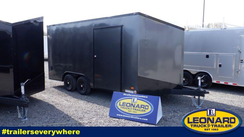 2021 8.5X16 BRAVO BUMPER PULL ENCLOSED CARGO TRAILER
