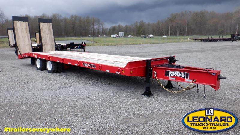 2021 30'  ROGERS TAG DECK OVER EQUIPMENT TRAILER