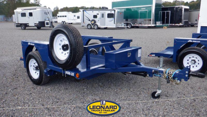 2021 RS8-35 AIR TOW HYDRAULIC FLATBED TRAILER