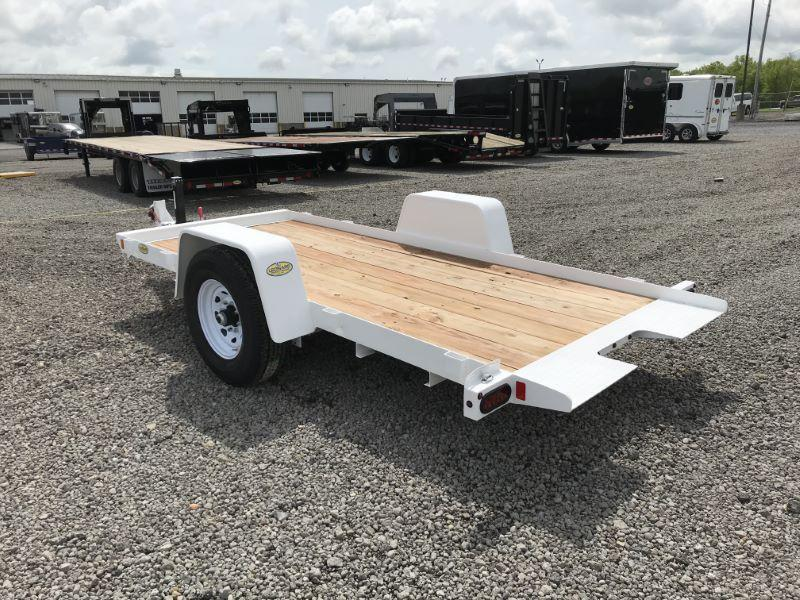 2020  12'  BRI-MAR BUMPER PULL EQUIPMENT TRAILER