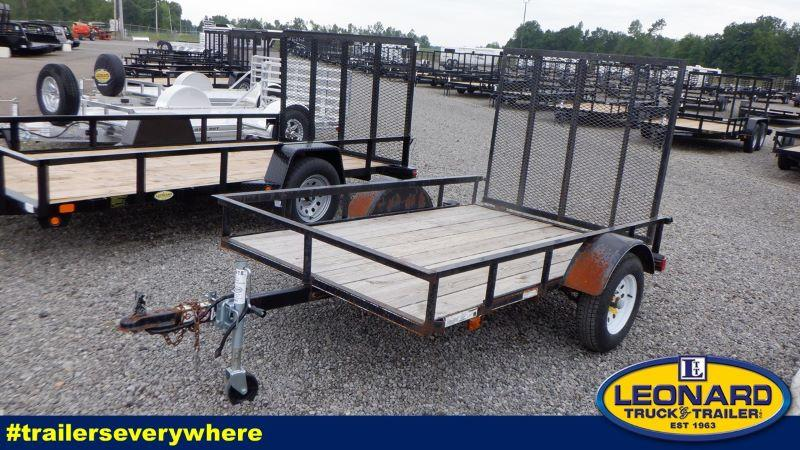 2017  8'  CARRY ON BUMPER PULL UTILITY TRAILER