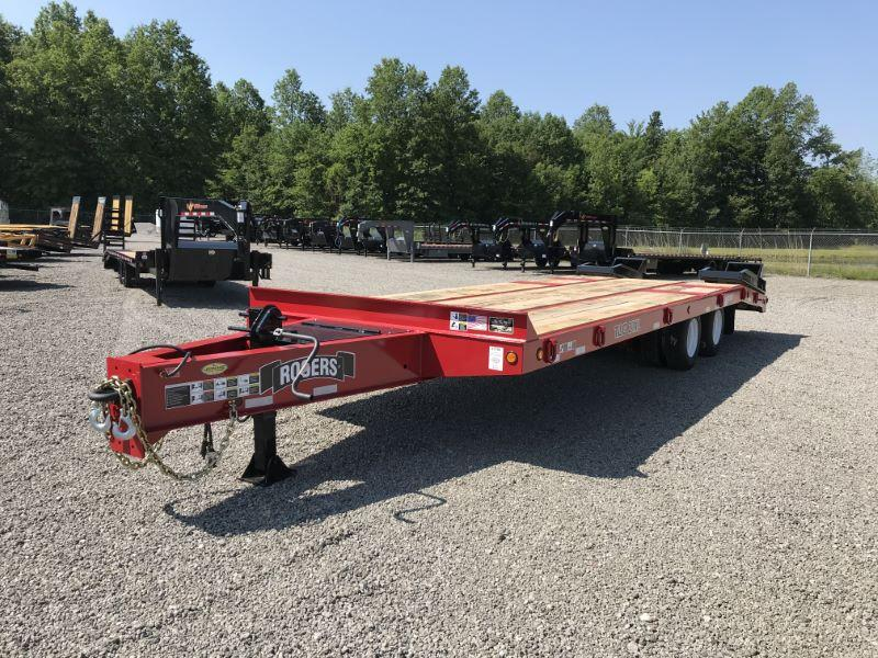 2020 8.5 X 28 ROGERS 21TON TAG-ALONG EQUIPMENT TRAILER