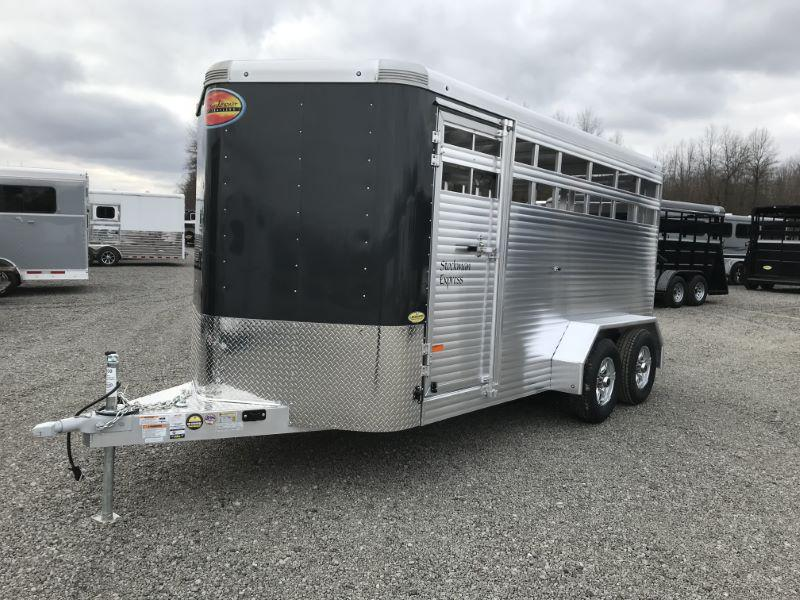 2021  16'  SUNDOWNER BUMPER PULL STOCK TRAILER