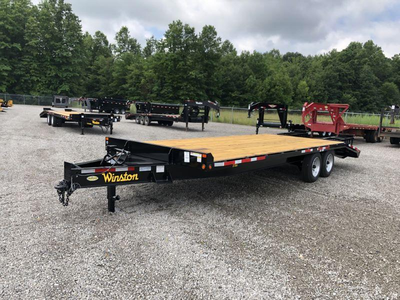 2021 8X23 WINSTON BUMPER PULL EQUIPMENT TRAILER