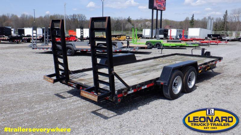 2019  20'  WINSTON BUMPER PULL EQUIPMENT TRAILER