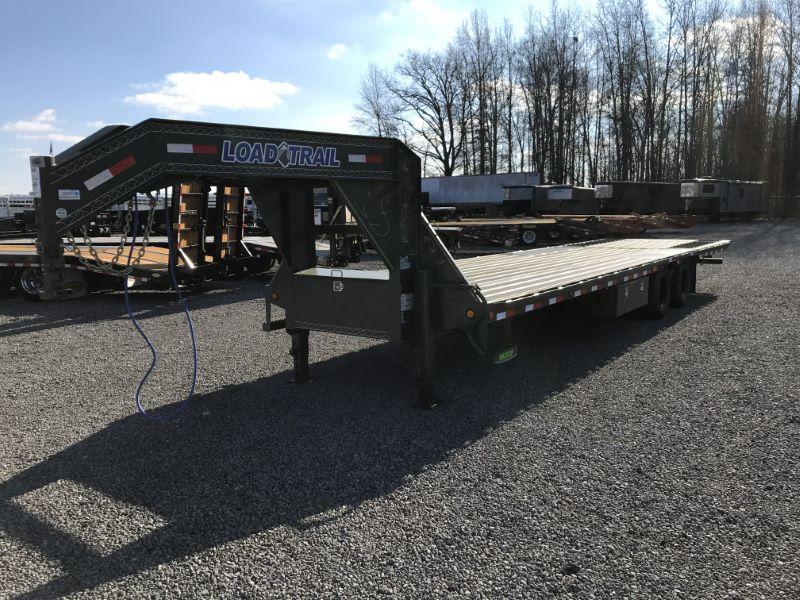 2021 8.5 X 32 LOAD TRAIL GOOSENECK EQUIPMENT TRAILER