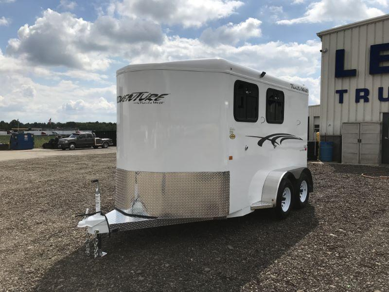 2021  2 HORSE  TRAILS WEST BUMPER PULL HORSE TRAILER