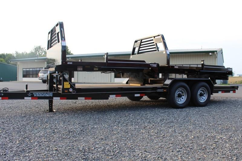 2017 Titan Trailer Bumper Hitch Utility Trailer