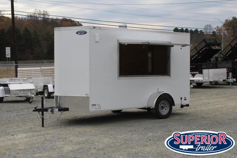 2022 Continental Cargo 6x12 Vending / Concession Trailer
