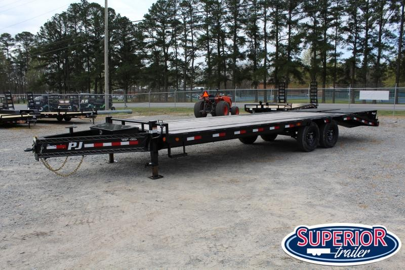 2020 PJ Trailers 25' LS Low Pro 14K w/ Monster Ramps