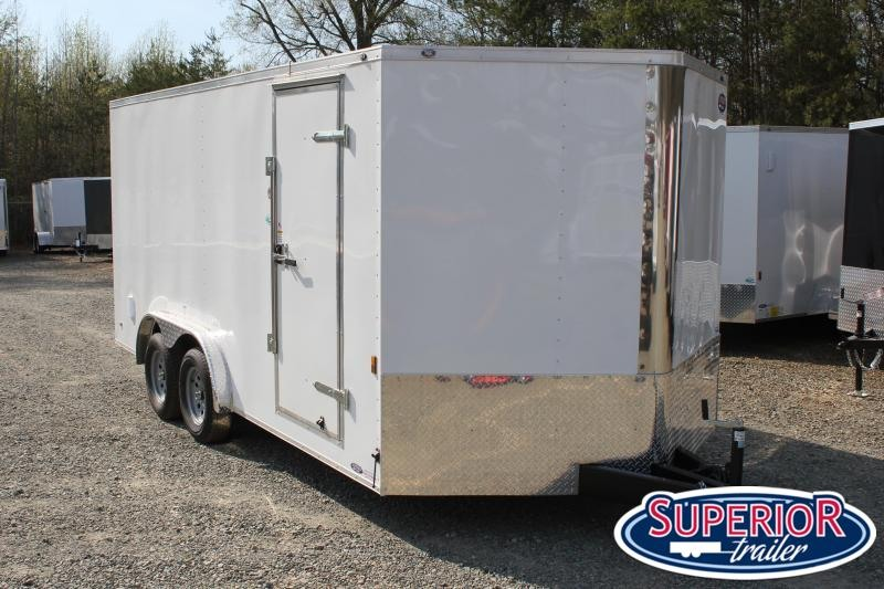 2021 Continental Cargo 8x16 7K w/ Double Doors