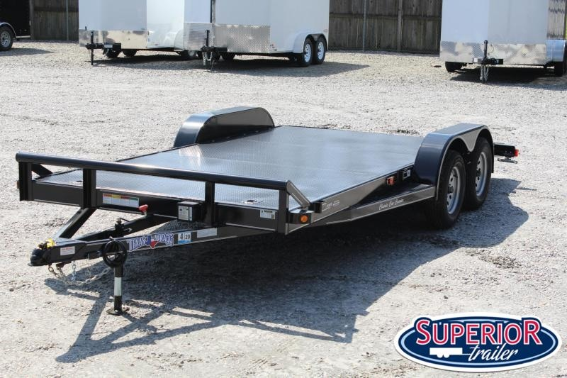2020 Texas Bragg Trailers 18CCC Car Trailer