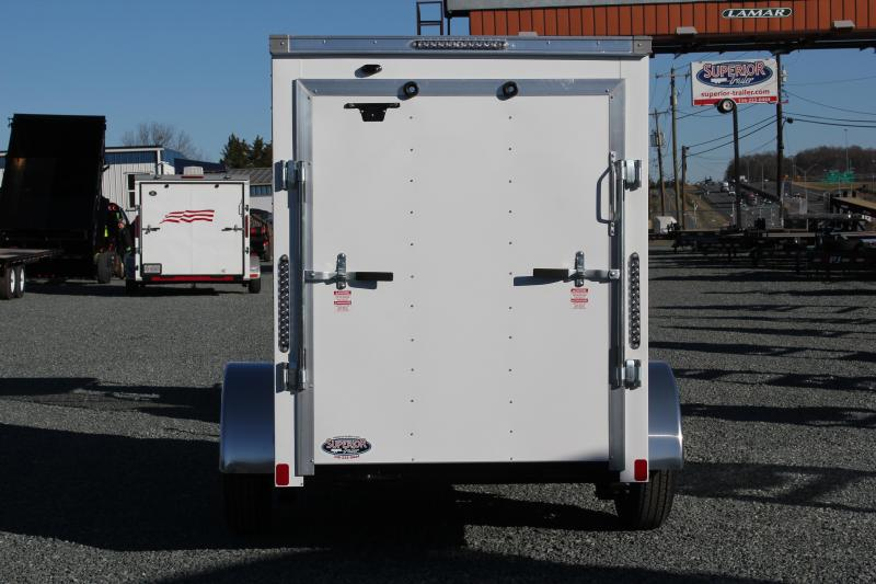 2020 Bravo Hero 5x8 w/ Extra Height & Ramp Door