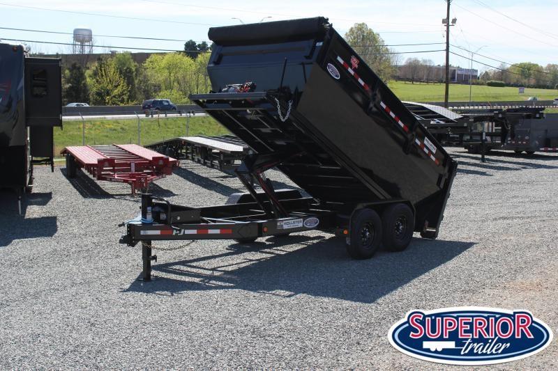 2022 PJ Trailers 7X14 DR 14K Roll Off Dumpster Trailer