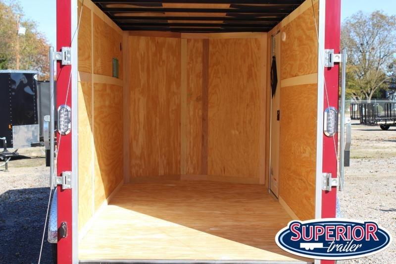 2021 Continental Cargo 6X12 w Ramp Door