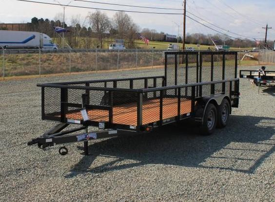 2020 Texas Bragg Trailers 16P w/ 2' Expanded Sides and HD Split Gate