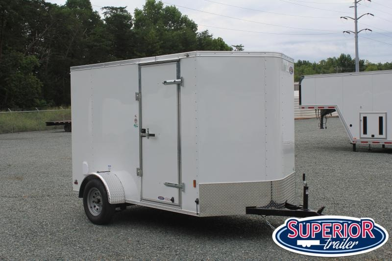 2021 Continental Cargo 6X10 w Ramp Door