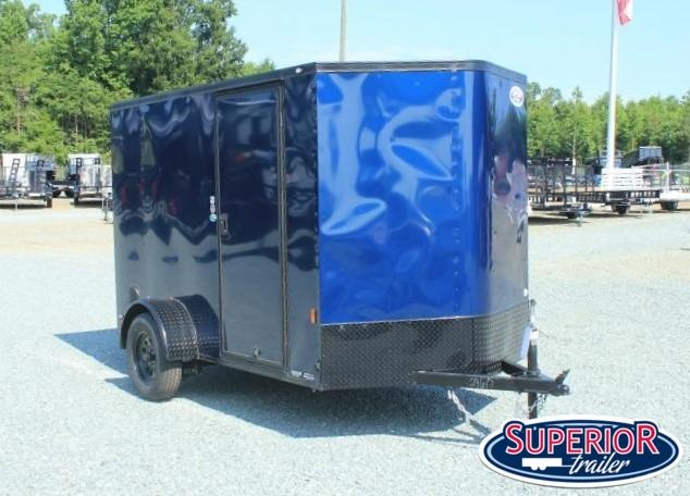 2021 Continental Cargo 6X10 w/ Blk Out Pkg and Ramp Door