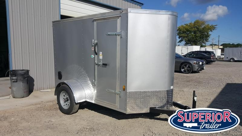 2021 Continental Cargo 5X8 w/ Rear Ramp