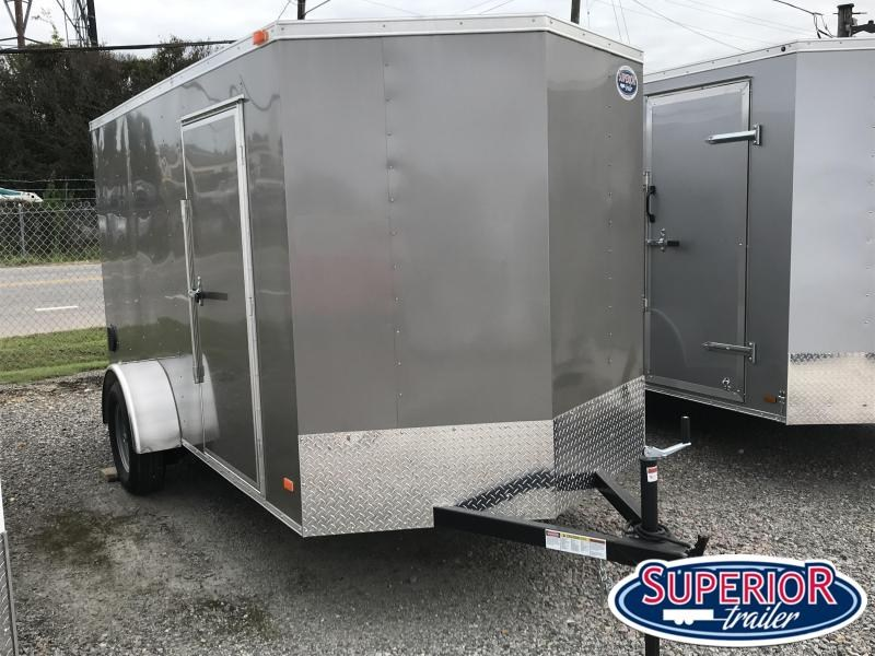 2020 Bravo Hero 6x12 w/ Ramp Door