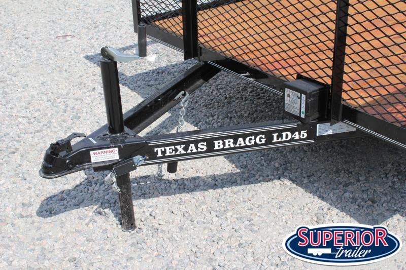 2021 Texas Bragg 14LD w/ 2ft Expanded Sides And Gate